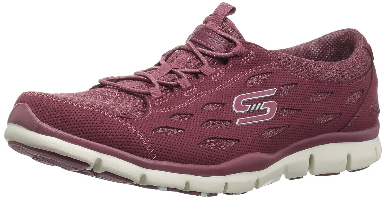 Skechers Women's Gratis-Cozy N' Carefree Sneaker B07CP9Q8VX 5.5 B(M) US|Burgundy