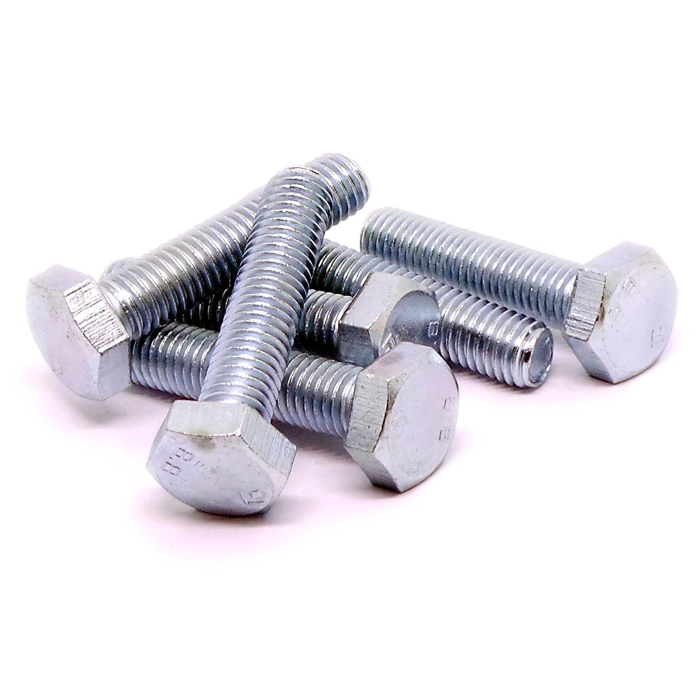 10/mm X 45/mm lot de 10 hexagonale Boulons / M10/ Enti/èrement filet/ée Tige filet/ée /Acier