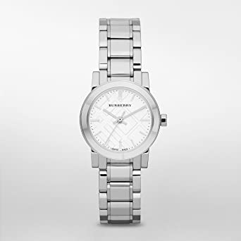 Burberry Silver Dial Stainless Steel Watch BU9200