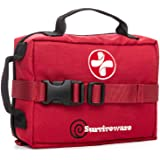 Surviveware Survival First Aid Kit (Red)