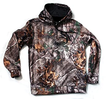 4b67d96d68b45 Realtree Kids Childrens Camo Hoody Top Pigeon Shooting Decoying Hunting  Soft Warm (AGE 7-