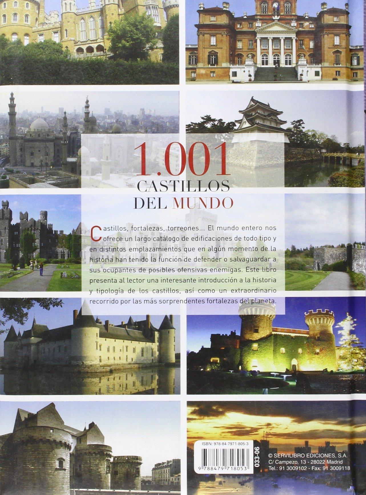 1.001 Castillos del mundo: Amazon.es: Servilibro Ediciones S A: Libros