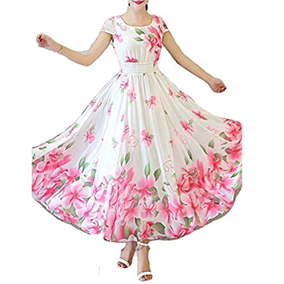 SRI SAI COLLECTION Women\'s One Piece Western Prom Dress For Girls ...