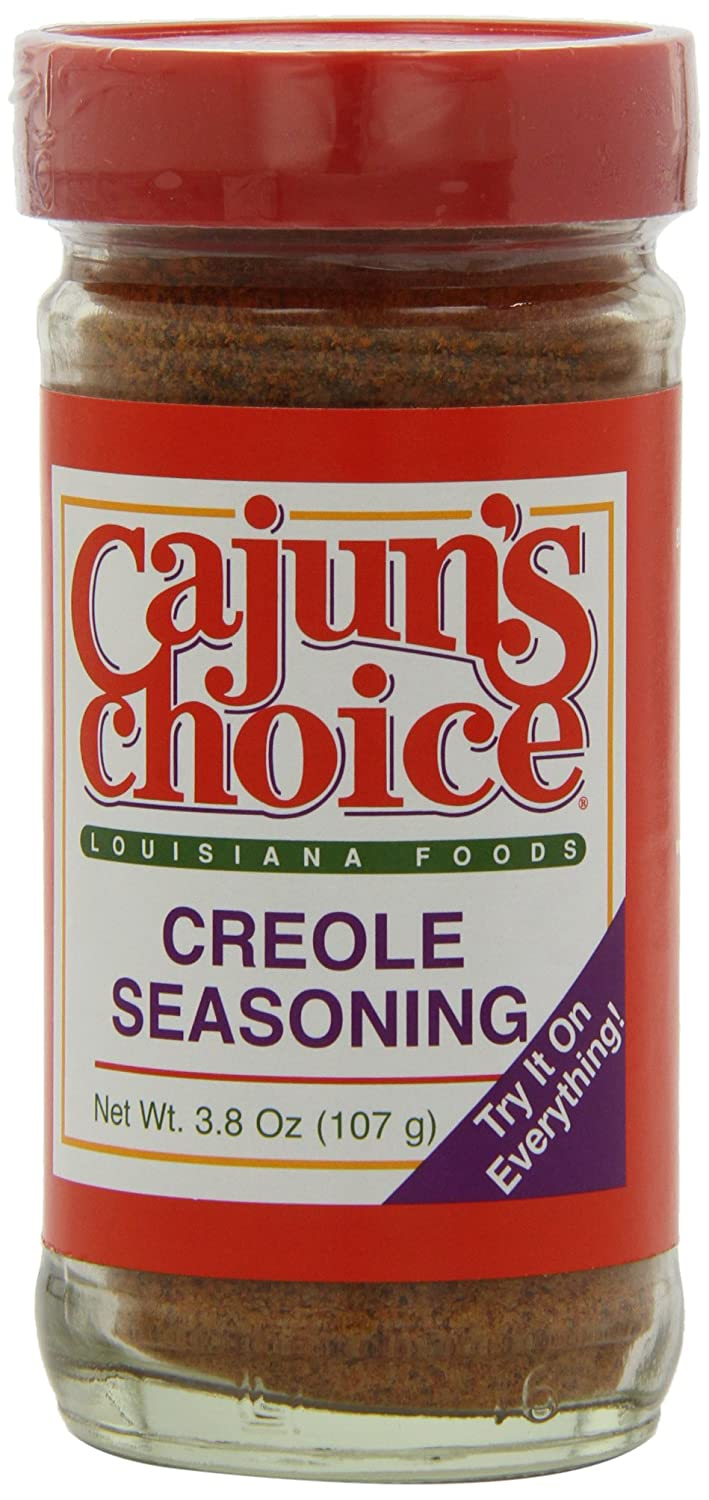 Cajun's Choice Creole Seasoning, 3.8-Ounce Packages (Pack of 12)