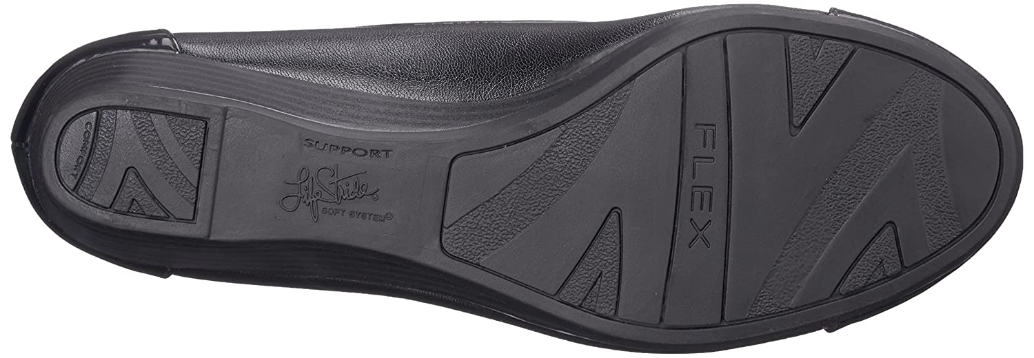 LifeStride Women's Future Flat B00S0IFP72 6 B(M) US|Black