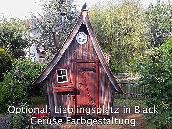 Casa de jardín Lugar favorito Equipo completo (Oferta solo válida en Austria), Black Ceruse: Amazon.es: Jardín