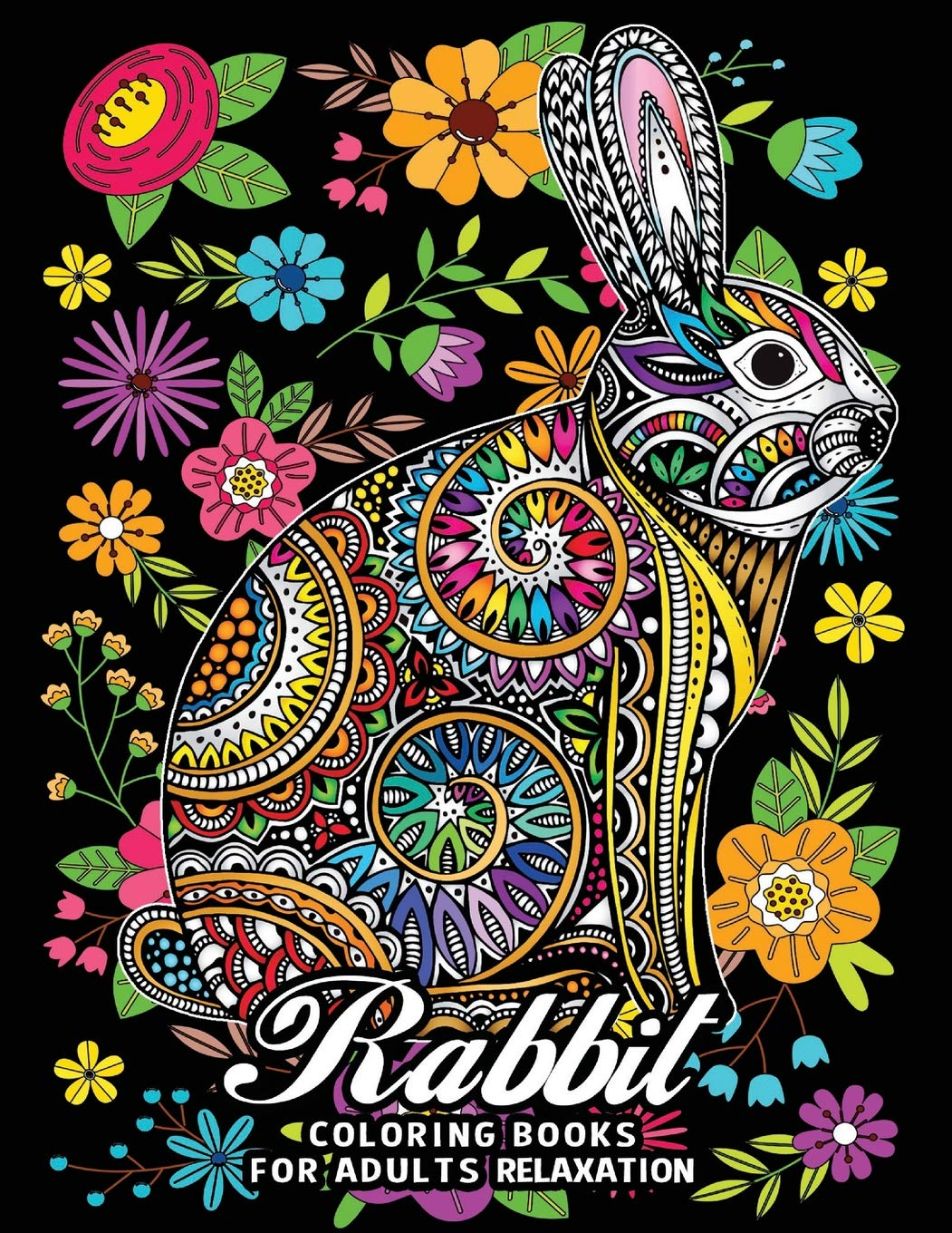 Amazon.com: Rabbit Coloring Books for Adults Relaxation: Fun ...