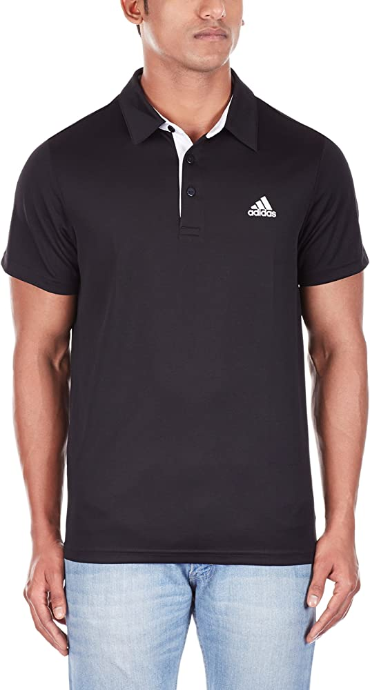 adidas Fab Camiseta, Hombre, Negro (Negro/Blanco), XL: Amazon.es ...