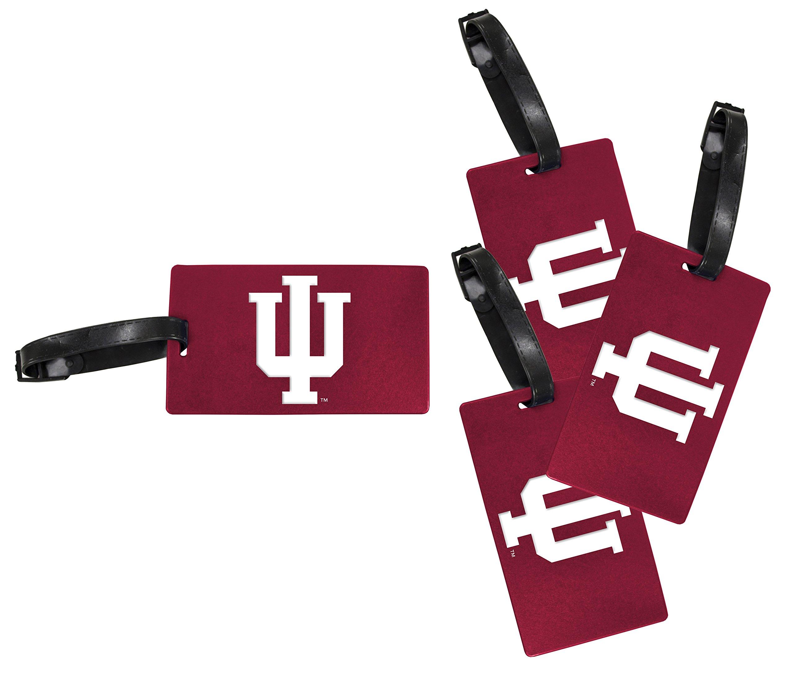 Indiana Hoosiers Luggage Tag 4-Pack