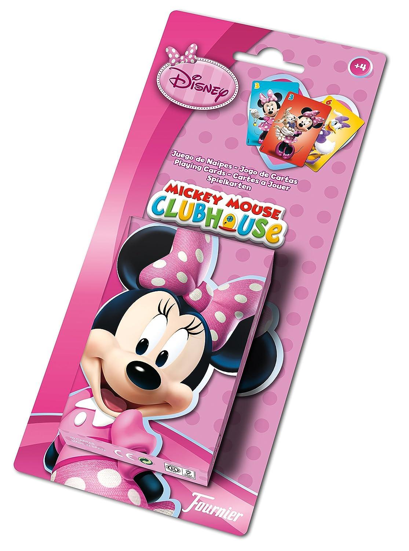 Minnie Mouse - Baraja infantil con 40 cartas (Naipes Heraclio Fournier F43261): Amazon.es: Juguetes y juegos