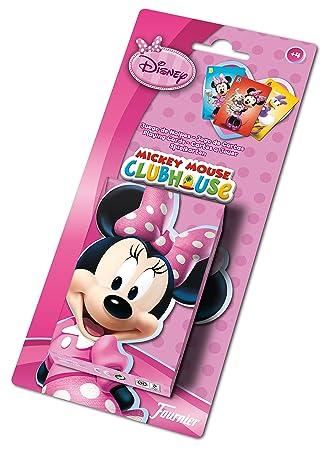 Minnie Mouse - Baraja Infantil con 40 Cartas (Naipes Heraclio Fournier F43261)