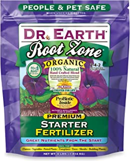 product image for Dr. Earth 701P Organic 2 Starter & Transplant Fertilizer Poly, 4-Pound