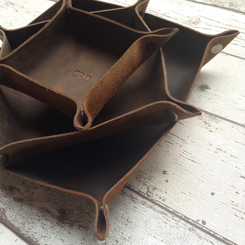 Custom Leather Dice Trays