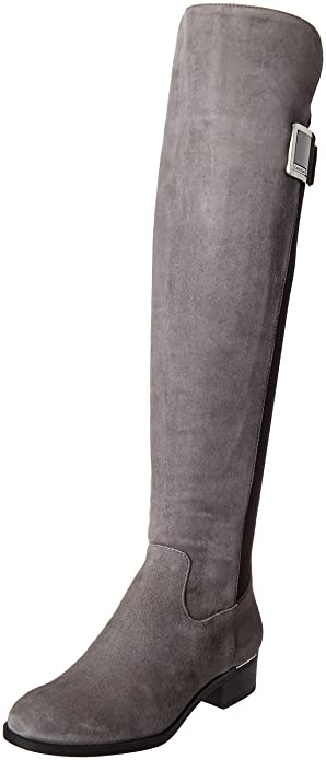 Amazon.com | Calvin Klein Women's Cyra Riding Boot | Knee-High