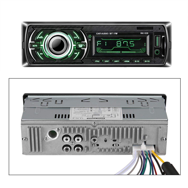 Autoradio Bluetooth, ieGeek Audio del Coche Reproductor MP3 ...