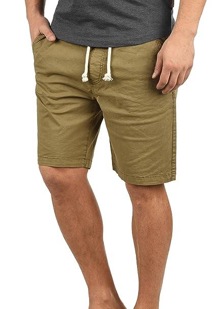 7927831a610fa Indicode Abbey Chino Pantalón Corto Bermuda Pantalones De Tela para Hombre  Elástico Regular-Fit  Amazon.es  Ropa y accesorios