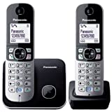 Panasonic KX-TG6812EB Twin DECT Cordless Telephone Set