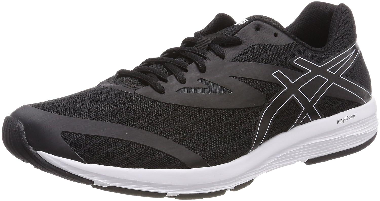Asics Amplica, Zapatillas de Running para Hombre 40.5 EU|Negro (Black/Black/White 9090)