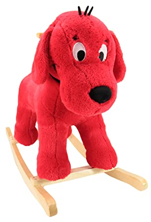 Amazon.com: Animal Adventure Clifford Big Red Dog Ride-On ...