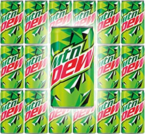 Mountain Dew, 7.5oz Can (Pack of 18, Total of 135 Fl Oz)