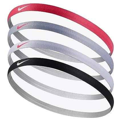 Amazon.com  Nike Girls Asst. Headbands 4Pk 905.BLK WH PK(BTS17 ... f430b523b7a