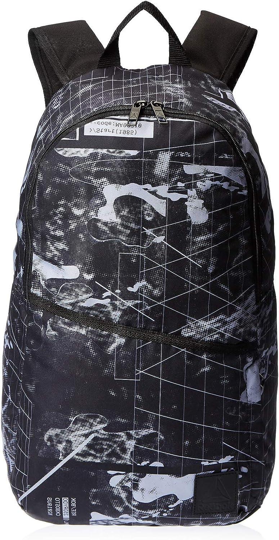 17x15x25 Centimeters Reebok DY9563 W x H x L Negro Noir Sac /à Dos Mixte Adulte