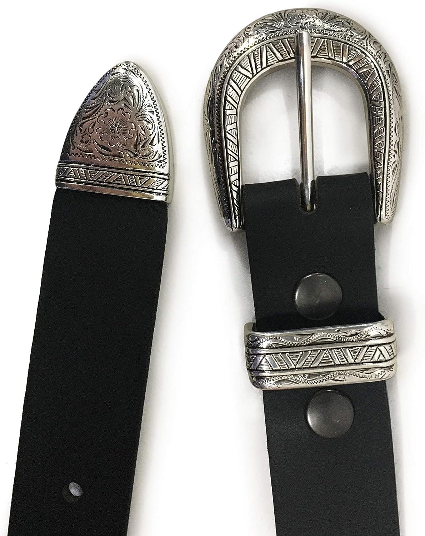 New Mens Handmade Genuine Solid Buffalo Leather South Western Belt 1-1//4