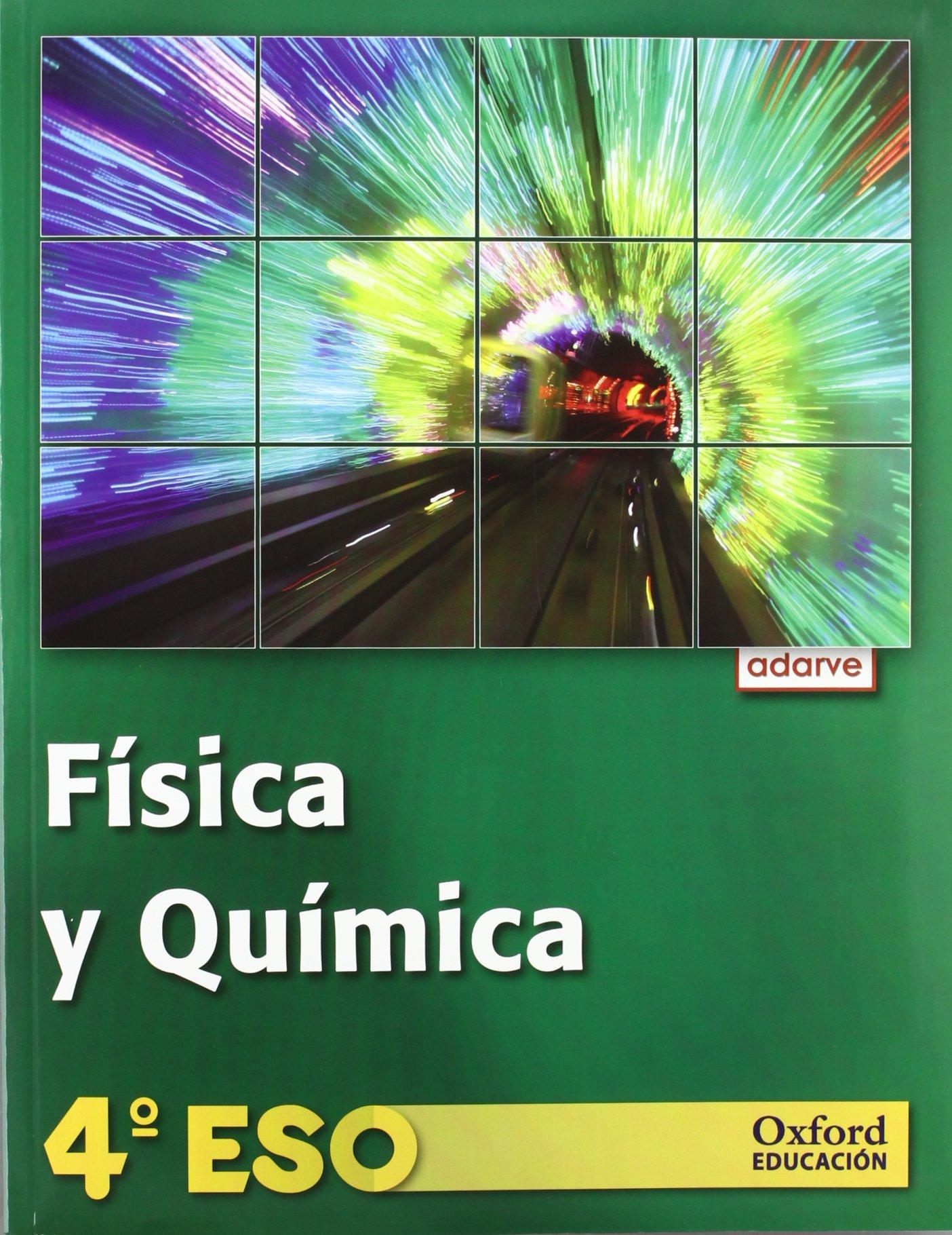 Adarve Física y Química 4º ESO la: 9788467370188: Amazon.com: Books