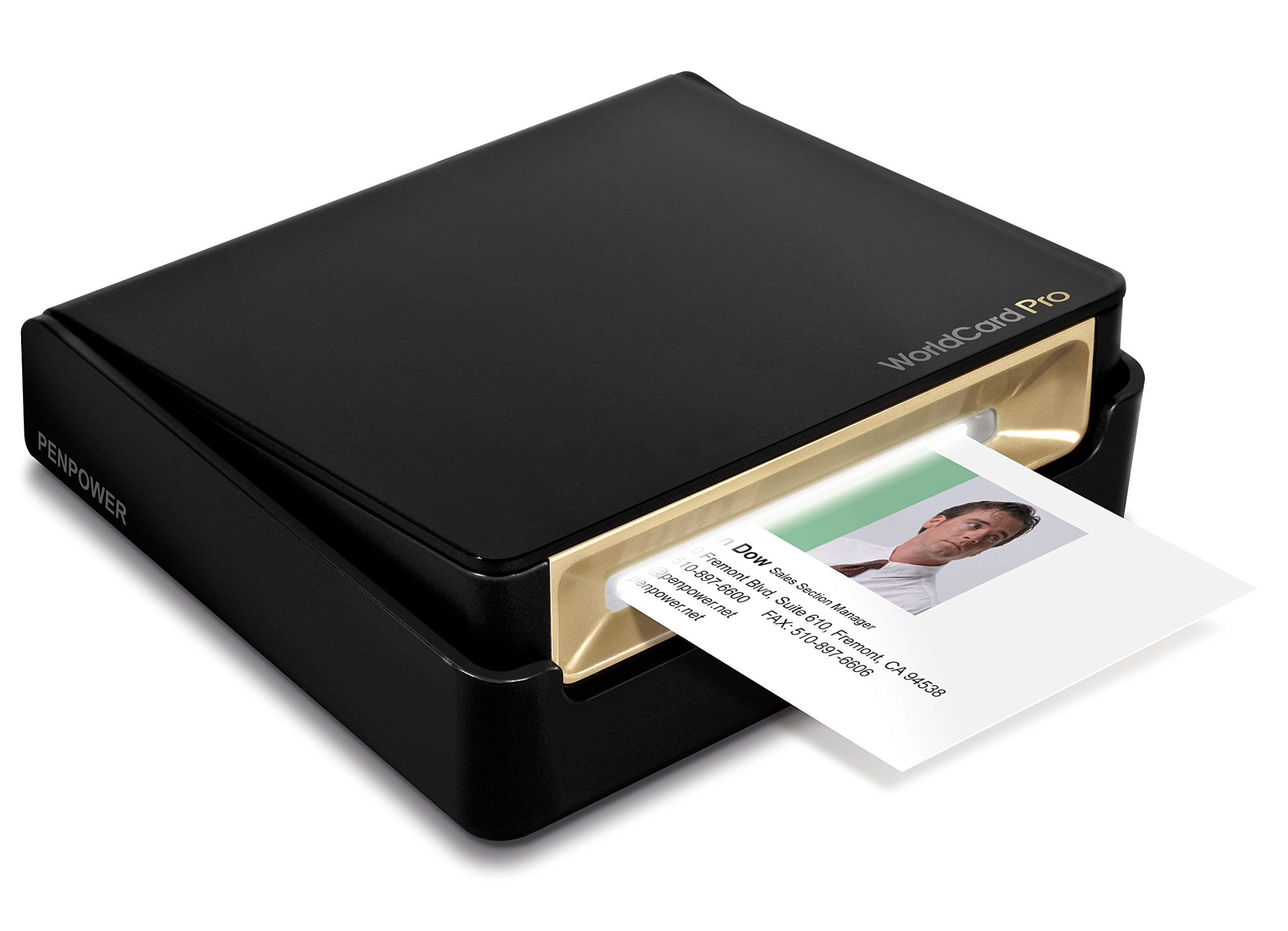 PenPower WorldCard Pro Business Card Scanner (Win/Mac) by PenPower