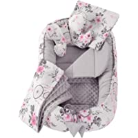 5 stks Knuffel nest set inc Baby nest 90x50 verwijderbare insert deken plat kussen vlinder kussen Medi Partners voor…
