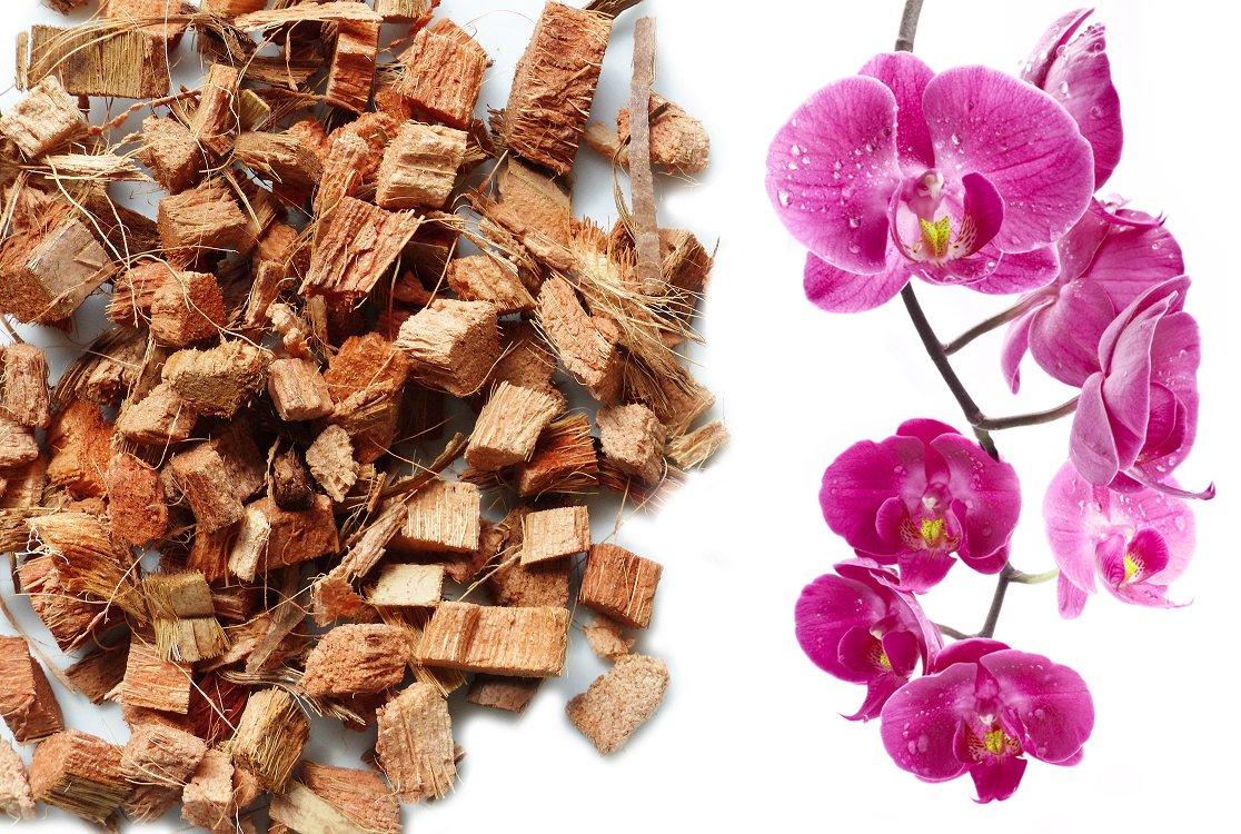 Kokos Chips lose - Orchideensubstrat - 25 Liter Beutel kokosfaser