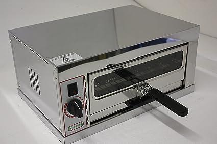 Hornillo para pizza TP320, 48 x 34 x 24 cm, 230 V 2,0 kW ...