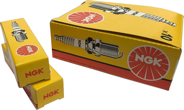 NGK 7822 Spark Plug - Pack of 10 NGK Spark Plug Europe GmbH MCH74142