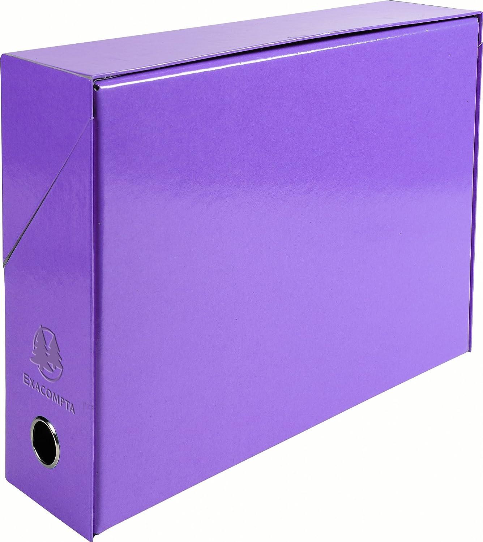 color azul Exacompta 89922E Caja de transferencia
