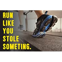 PRINTELLIGENT Big Size Gym Posters Motivational Gym Posters