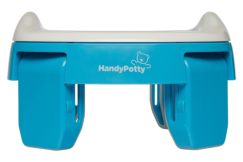 HandyPotty HP-250B 2in 1 Töpfchen/Reisetöpfchen, Blau Pamper24