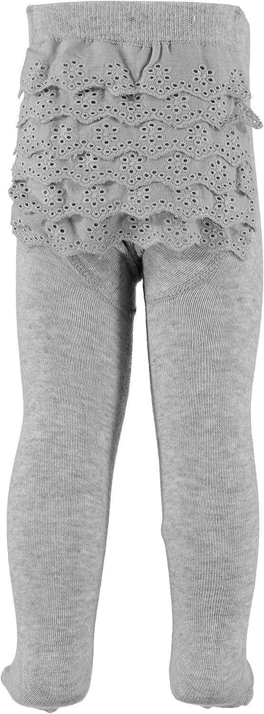 one size machine washable Anais Grey cotton rich rhumba tights for newborn baby girls aged 0-12 months Aden
