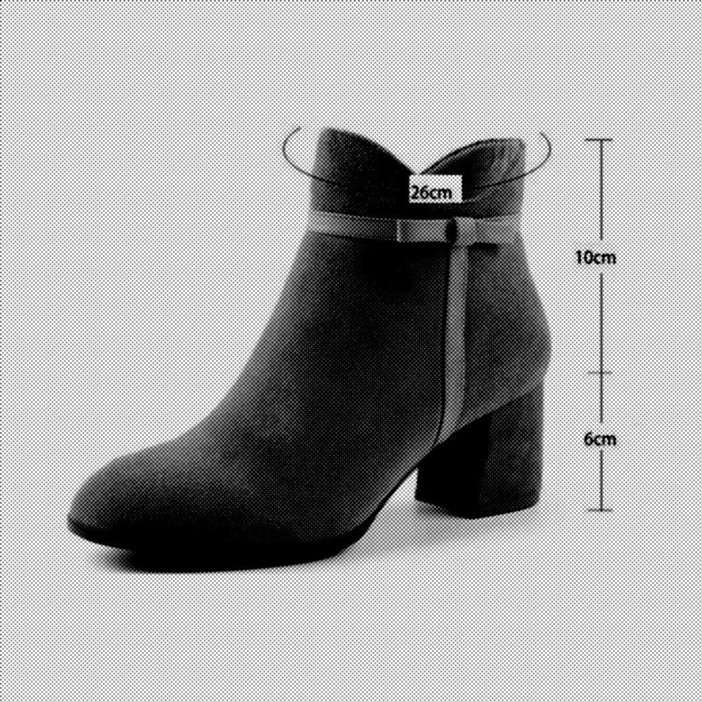 YIWU Stiefeletten Weibliche High High High Heels Winter Kurze Stiefel Stiefelies High Heel Martin Stiefel (Farbe   Naked, Größe   EU39 UK6 CN39) 93157a