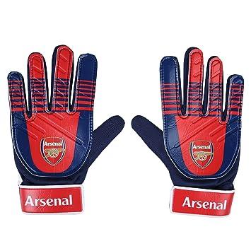 newest e2bb6 1bfc7 Arsenal FC Official Soccer Gift Kids Youths Goalkeeper Goalie Gloves