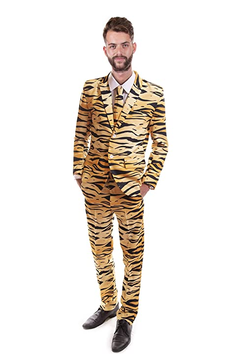 Blood Stained Halloween Print Stag Suit 36-38 Chest