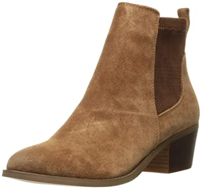 Very Volatile Women's Raya Ankle Bootie, Camel, ...