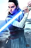 """Amazon Price History for:Trends International Wall Poster Star Wars Episode VIII the Last Jedi Rey, 22.375"""" x 34"""""""
