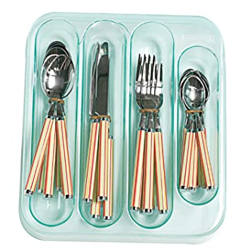Luminarc - 5759039-24 piezas Servicio - cubertería - Bahia diseño de rayas: Amazon.es: Hogar