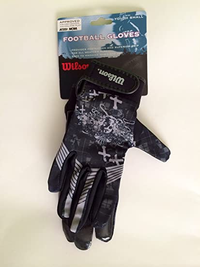 Image Unavailable. Image not available for. Color  Wilson Football Gloves  WTF9950 Youth Small 9ff15fa72