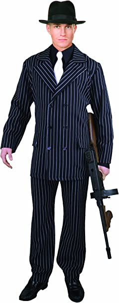 Amazon.com: Charades traje Gangster de 6botones para ...