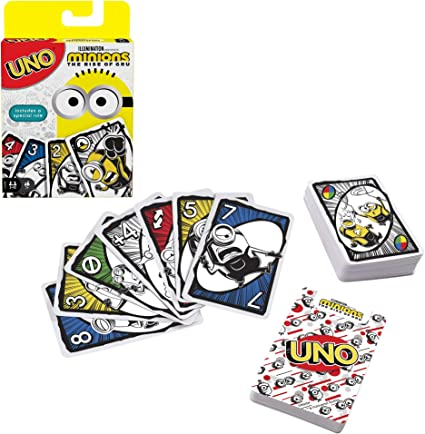 Mattel Games Uno Minions: The Rise of GRU Card Game: Amazon.es: Juguetes y juegos