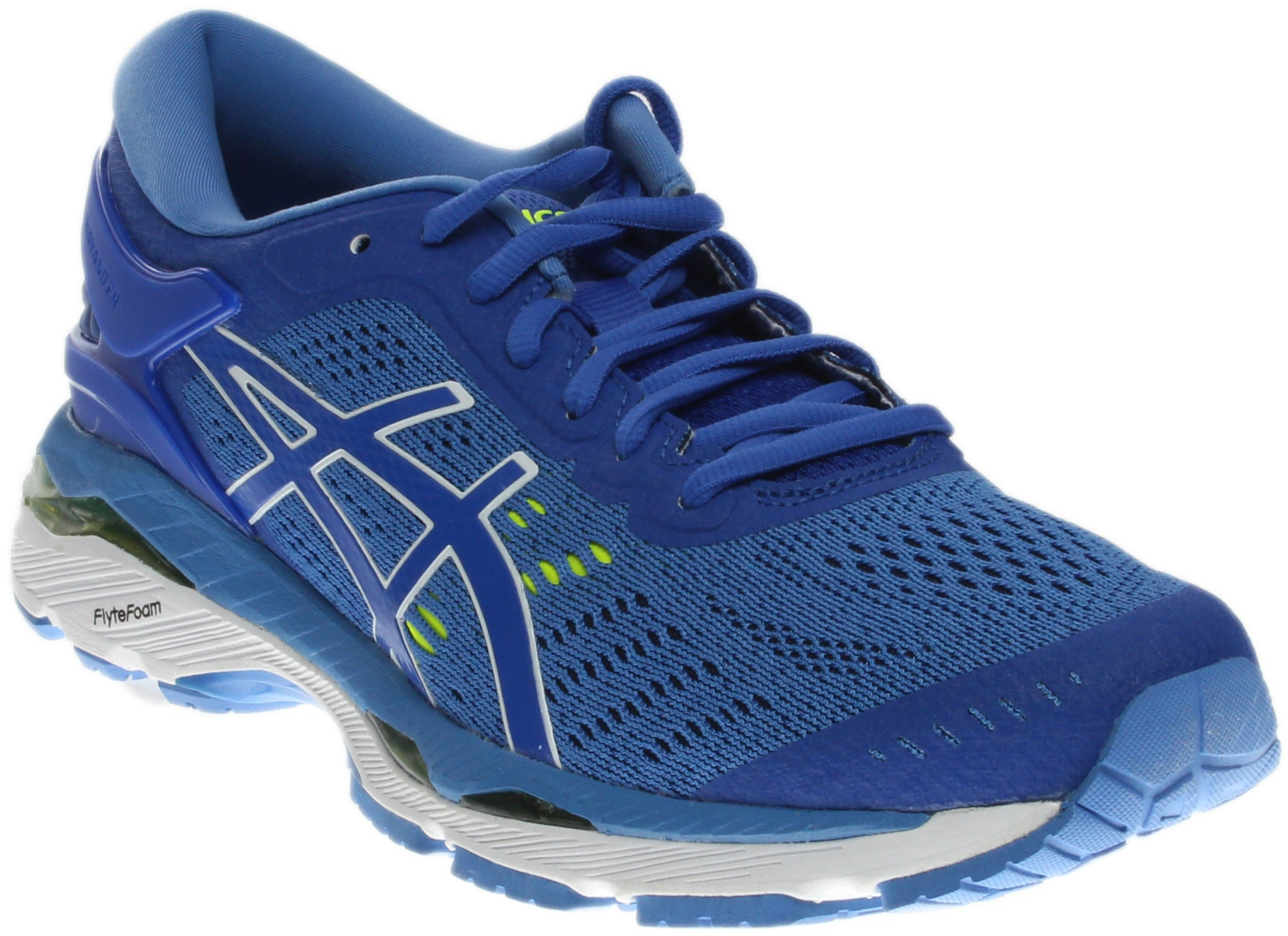 ASICS Womens Gel-Kayano 24 Running Shoe Purple/Regatta Blue/White, 7.5 D US