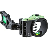 Field Logic IQ Bowsights Ultra Lite 3 or 5 Pin Compound Bow Archery Sight with Retina Lock Technology - Left and Right Hand