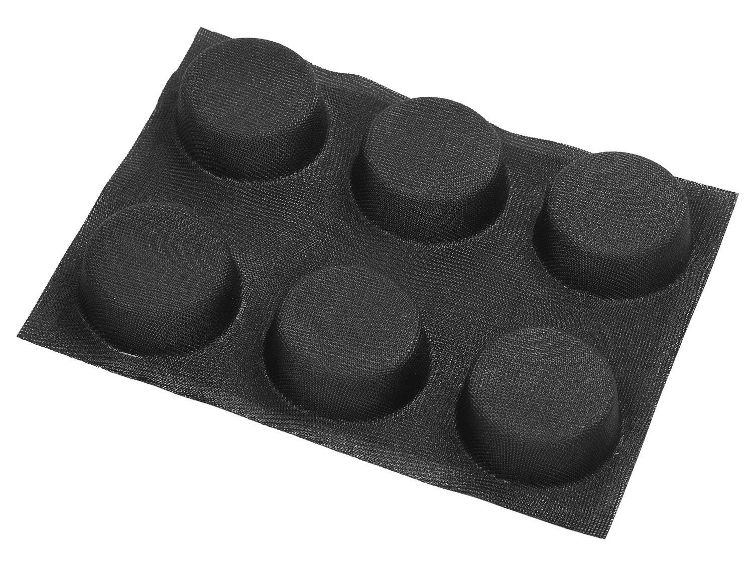 Dltsli Silicone Non Stick Perforated Baking Liners Mat Bread Buns Mold Subway Bread Mould by Dltsli