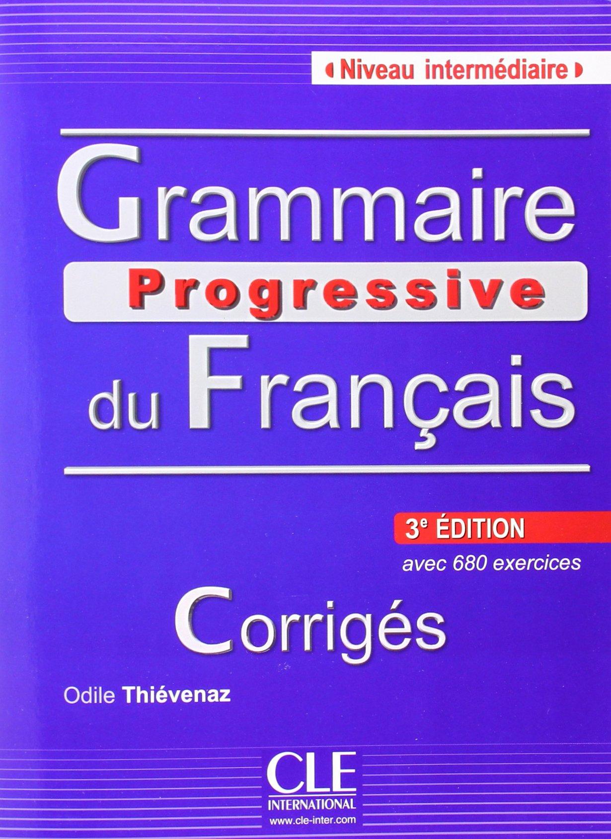 Grammaire progressive du français, Niveau intermédiaire